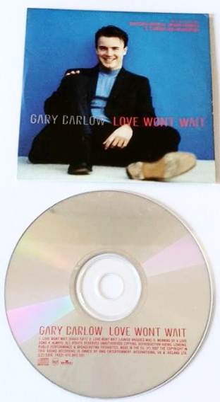 Gary Barlow - Love Won't Wait (CD Single Pt 1) (G+/EX)